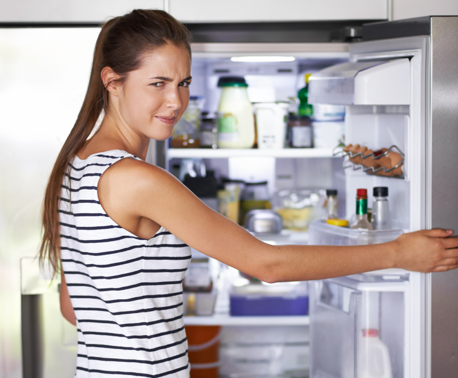 odeur au frigo
