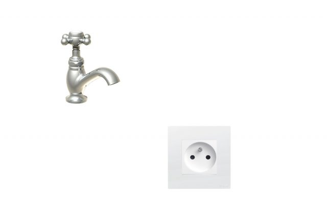 Quelle hauteur prise salle de bain ?